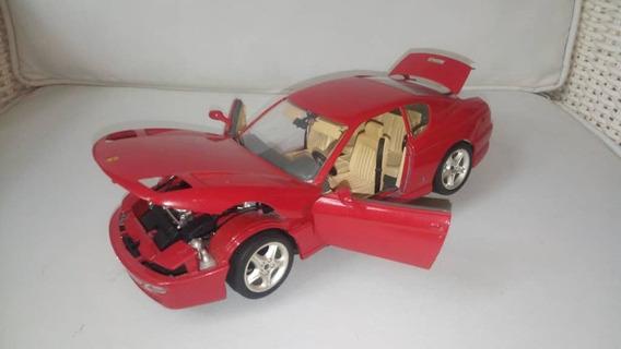 Ferrari 456gt Año 1992 Escala 1/18 Burago.