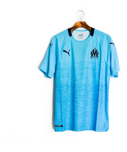 Camisa De Futebol Masculino Olympique Marseille 2018/19 Puma