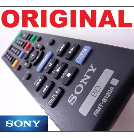 Controle Remoto Sony Rmt B120a Original Novo S/ Tampa Atraz