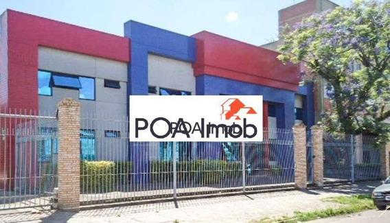 Prédio À Venda, 860 M² Por R$ 2.500.000,00 - Floresta - Porto Alegre/rs - Pr0025