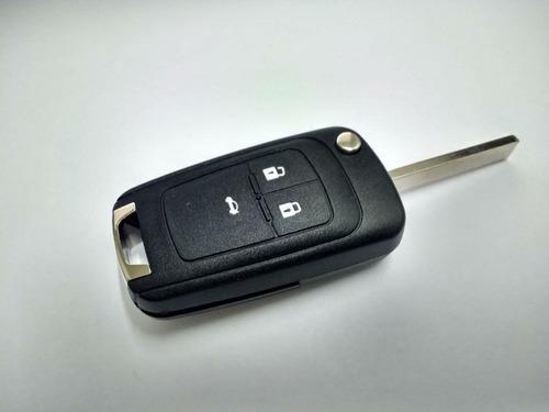 Llave Chevrolet Cruze Tracker Orlando - Carcasa 3 Botones