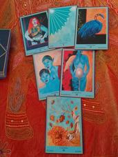 Oráculo Azul Y Tarot: Lectura General O 3 Preguntas