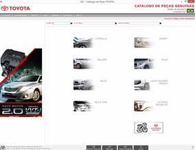 Catálogo Eletrônico De Peças Toyota Previa 1990 Ate 1997 *a