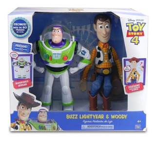 Toy Story 4 Buzz Lightyear Y Woody Interactivos - Imexporta