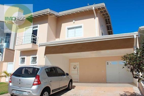 Casa Com 4 Dormitórios À Venda, 230 M² Por R$ 960.000 - Condomínio Residencial Canterville - Valinhos/sp - Ca0583