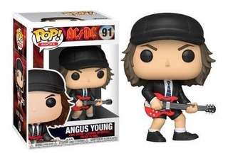 Funko Pop Angus Young # 91 Acdc * Local Balvanera