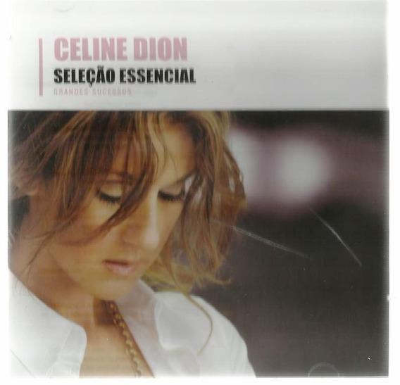 278 Mcd- 2008 Cd- Celine Dion- Seleção Essencial- Pop Inter