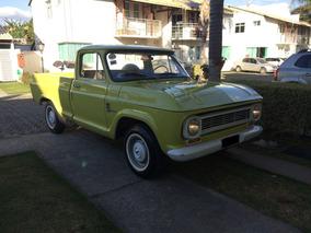 Chevrolet C-10 1973 Placa Preta