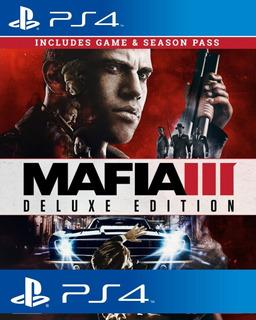 Mafia 3 Ps4 Deluxe Edition Sub Español Udo