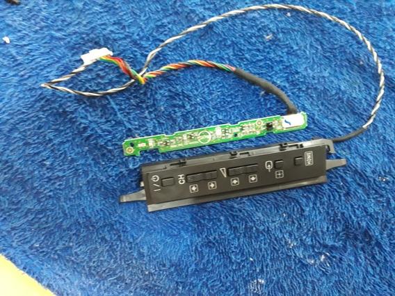 Sensor Controle + Teclado De Funções Tv Sony Kdl-22ex355