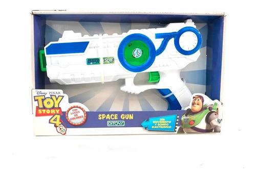 Imagen 1 de 4 de Pistola Con Laser Space Gun Toy Story Ditoys 2277 (4181)