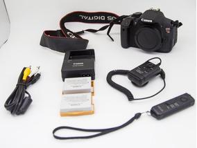 Canon Eos T5i +2 Baterias+cabos Originais + Controle Remoto