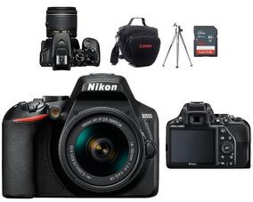 Nikon D3500 Kit 18.55mm Vr+bolsa+tripé 32gb