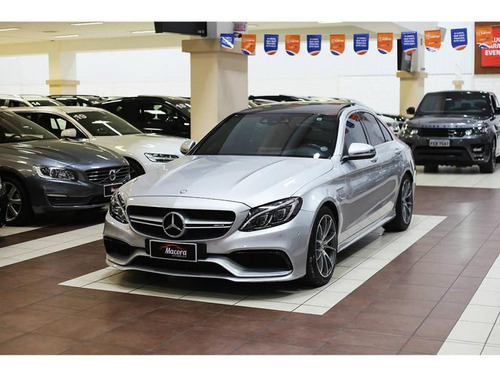 Mercedes-benz C 63 Amg 63 Amg 4.0 V8 Bi-turbo Aut.