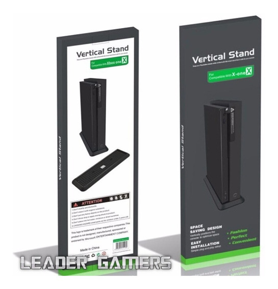 Base Vertical Para Deixar Em Pé O Xbox One X