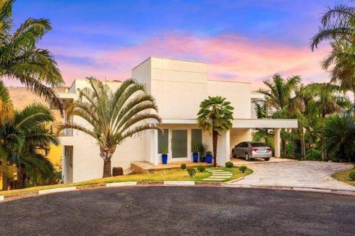 Imagem 1 de 28 de Sobrado Com 4 Dormitórios À Venda, 748 M² Por R$ 3.300.000,00 - Condomínio Osato - Atibaia/sp - So0935