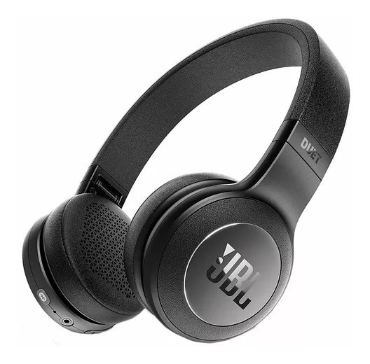 Fone De Ouvido Jbl Duet Bt On Ear Bluetooth Preto Headphone