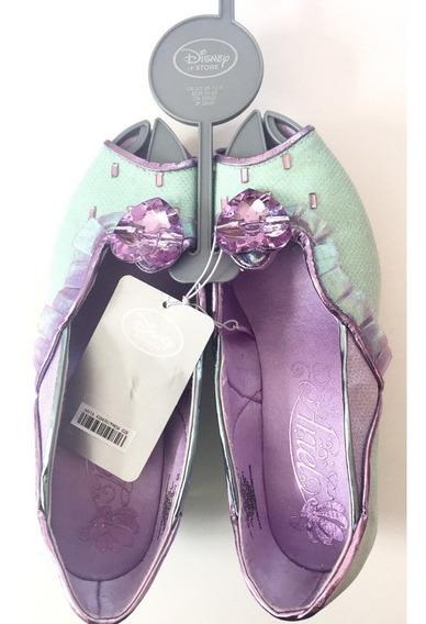 Sapato Princesa Ariel Original Disney Store P/entrega
