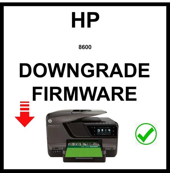 Downgrade Firmware Hp 8600 Y Mas ...
