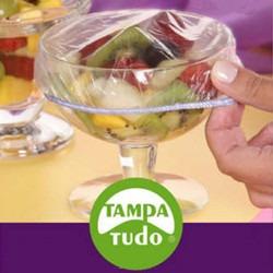 Kit 3 Peças Tampa Fácil P/ Travessa E Tigela Reutilizável