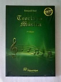 Teoria Da Música Bohumil Med - Vade Mecum 5ª Edição *novo*