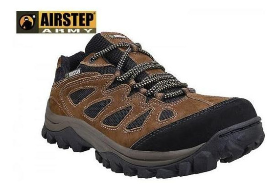 Tênis Hiking 5600-7 Airstep Brown/black