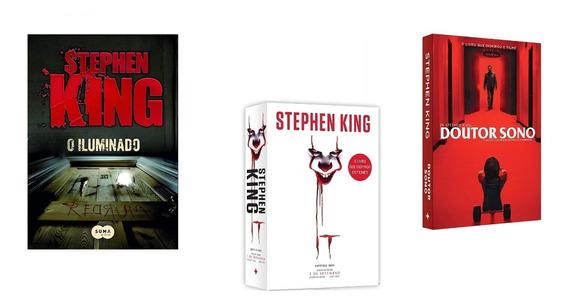 Kit: O Iluminado Stephen King +doutor Sono+ It. A Coisa
