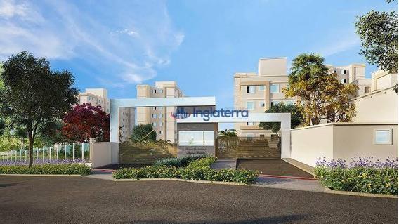 Apartamento Com 2 Dormitórios Para Alugar, 43 M² Por R$ 700,00/mês - Jardim Morumbi - Londrina/pr - Ap1237