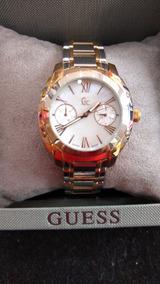 Guess Collection Feminino Prata E Dourado