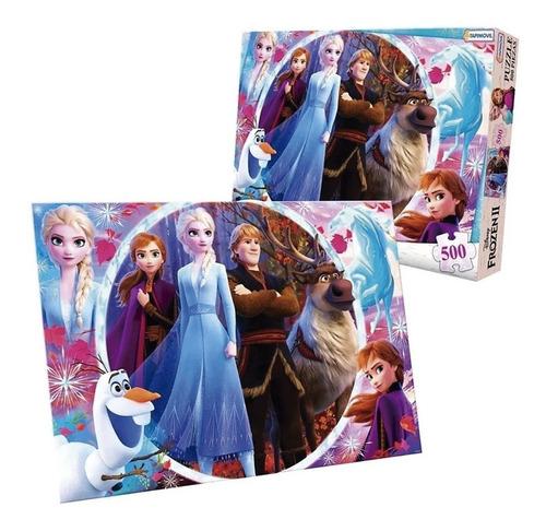 Frozen Ii Puzzle 500 Pzas Dfz07916 Envio Full