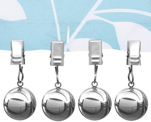 Imagen 1 de 6 de Boomba - Pesos Para Cortinas De Ducha, 10 Oz, Pesados, Premi
