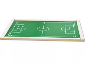Campo De Futebol De Botão Grande 62x42x02 Junges