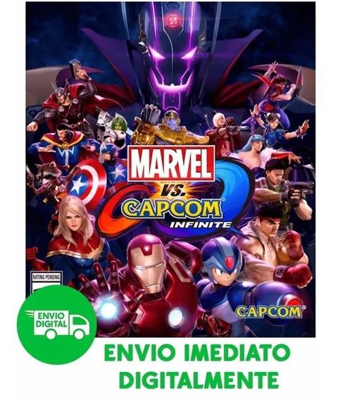 Marvel Vs. Capcom Pc : Infinite Deluxe Edition Envio Rapido