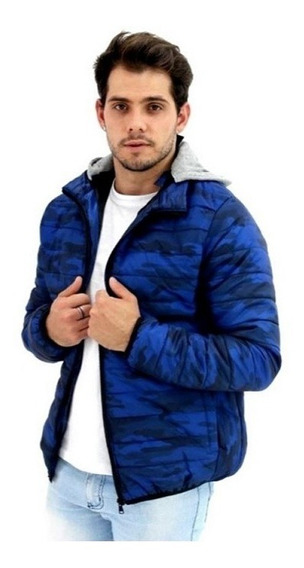 Jaqueta Casaco Blusa Masculina Militar Camuflada Inverno