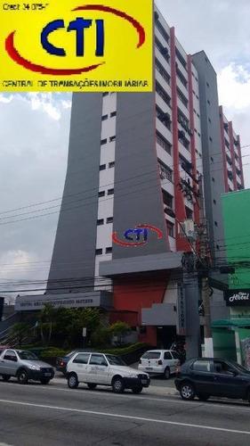 Sala Comercial À Venda, Centro, São Bernardo Do Campo. - Sa0050