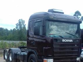 Scania113 124 Mam 440 Rodotrem Caçamba Vanderleia