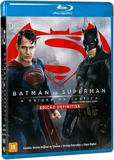 Blu-ray Novo Filme Batman Vs Superman Ed Definitiva Original