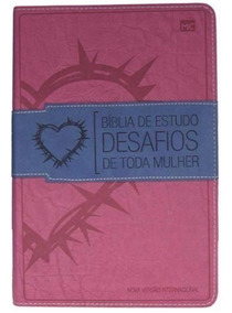 Bíblia De Estudo Desafios De Toda Mulher Lilás Nvi