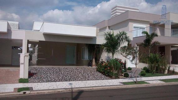 Casa À Venda, 202 M² Por R$ 1.520.000,00 - Condomínio Villa Bella Livorno - Paulínia/sp - Ca1607