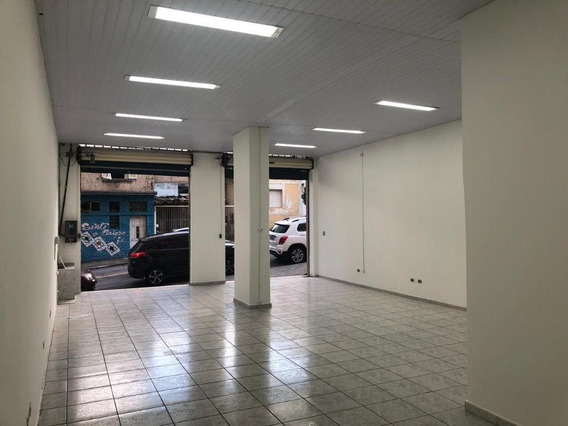 Salão Para Alugar, 120 M² Por R$ 2.500/mês - Alto Da Mooca - São Paulo/sp - Sl0838