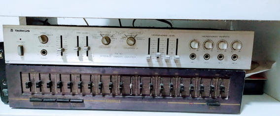 Tarkus Stereo Mixer Center Tx 10