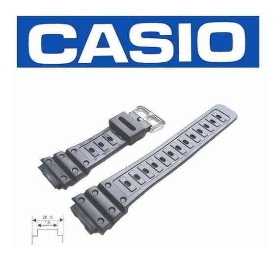 Pulseira Casio Ae-1000 Ae-1100 Similar Borracha Preta