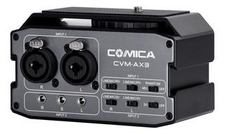 Mixer Preamplificador Comica Ax3 Para Dslr