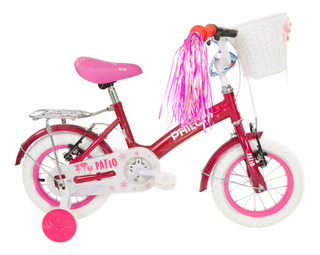 Bicicleta Philco Niña - Rodado 12 Philco