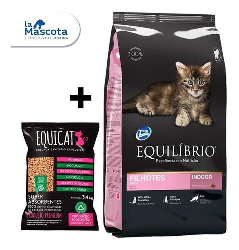 Imagen 1 de 4 de Equilibrio Gatitos Kitten 7,5kg + Regalo + Envio + Pagos.