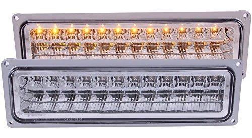 Anzo Usa 511048 Chevrolet Full Amber Led Conjunto De Luz De