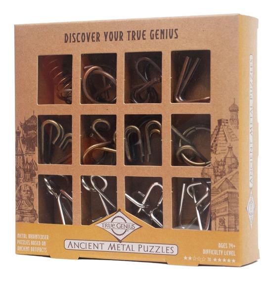 Rompecabezas True Genius 12pc Ancient Metal Collection