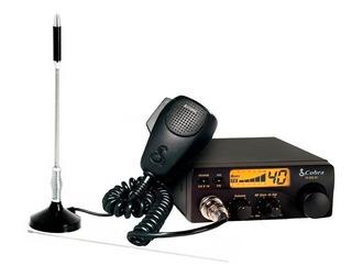 Kit Rádio Amador Px Cobra 19dx Iv 40 Canais Am + Antena Ímã Voyager P/ Carro Caminhão
