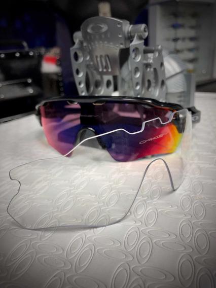 Gafas Para Ciclismo Oakley Radar Pace Prizm, 2 Lentes,nuevas
