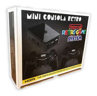 Mini Consola Retro 7000 Juegos Vers. Originales Nes Ps1 N64